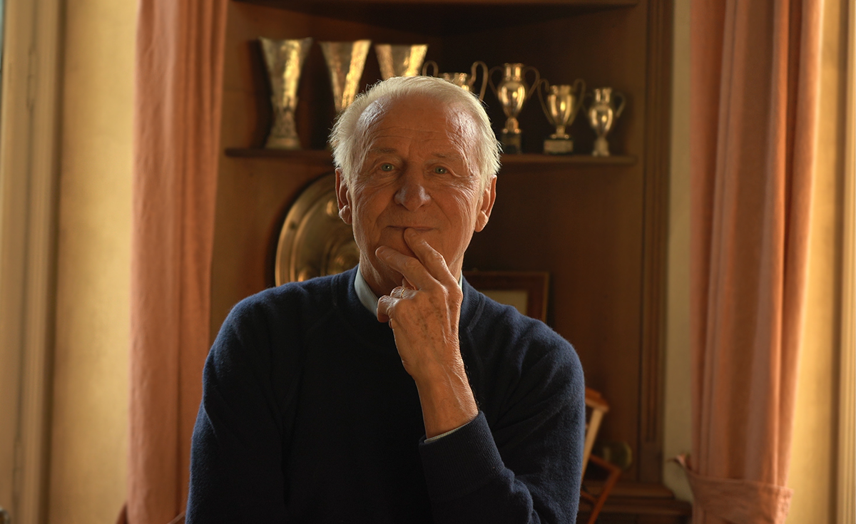 Giovanni Trapattoni and his landing on Social Media